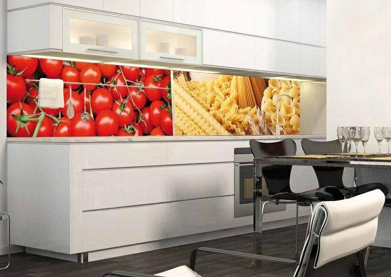 Panel de cocina 50 ideas para la pared de la cocina - Panel pared cocina ...