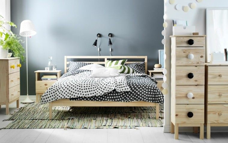 pared dormitorio color gris paloma