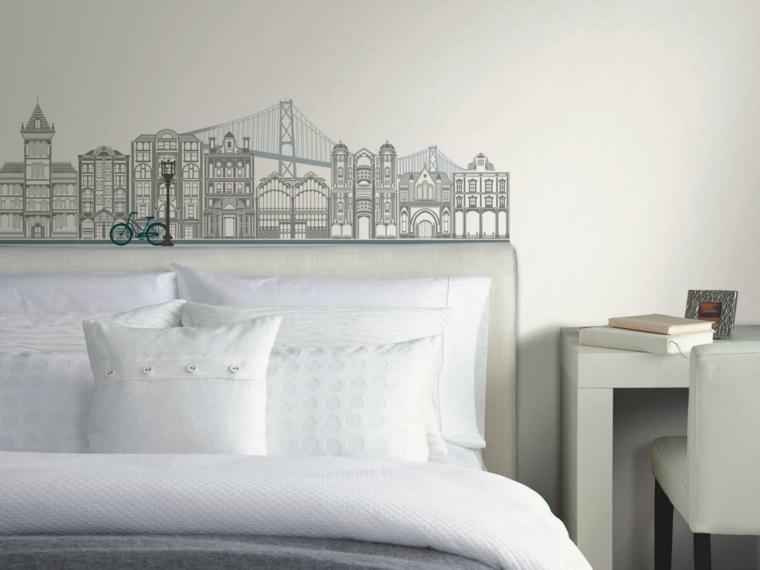 paredes decorado agradable moderno estilo