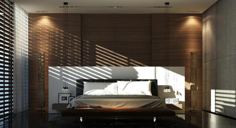paredes madera diseño ventanas estilo