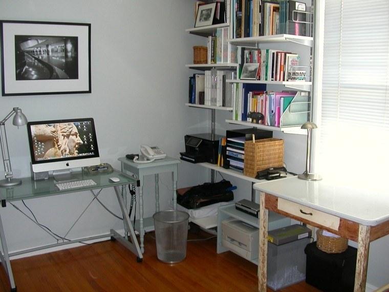 pequeña oficina diseño moderno