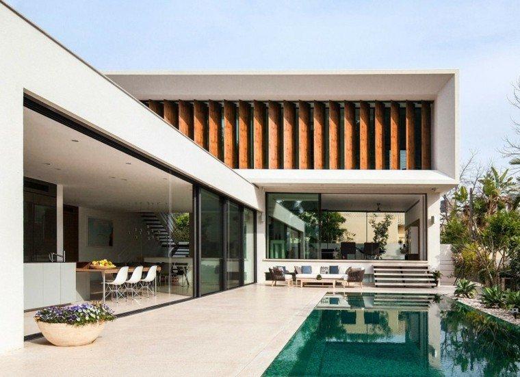 pisicna casa moderna jardin macetas decorativas ideas
