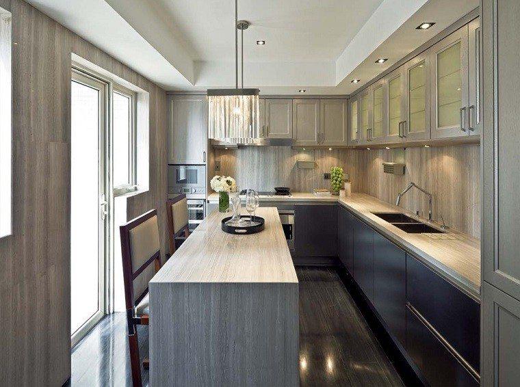 proyecto cocina 50 cocinas cl sicas y modernas a la vez On diseno cocina rectangular