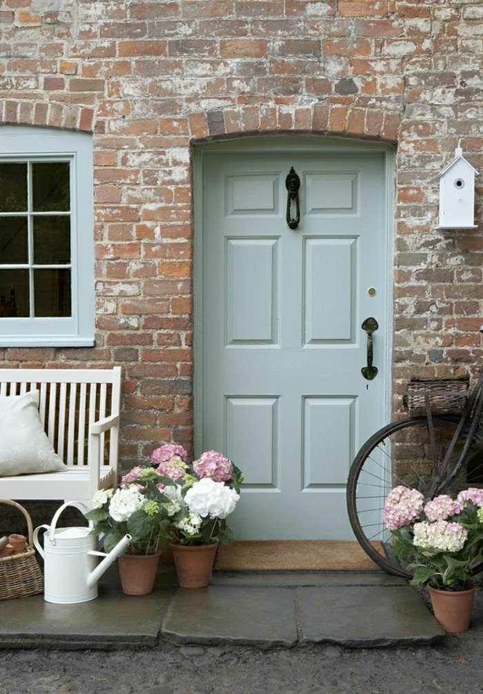 Puertas de entrada de casas antiguas 25 dise os - Felpudo entrada casa ...