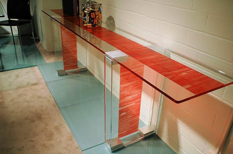 rayada rojo metal base ladrillos