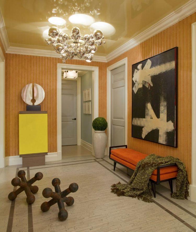 Entradas y recibidores con encanto 50 ideas para decorar - Como decorar un recibidor moderno ...