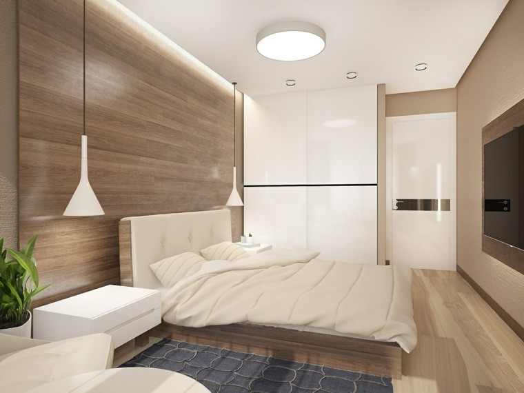revestimientos dormitoros laminados madera lisa