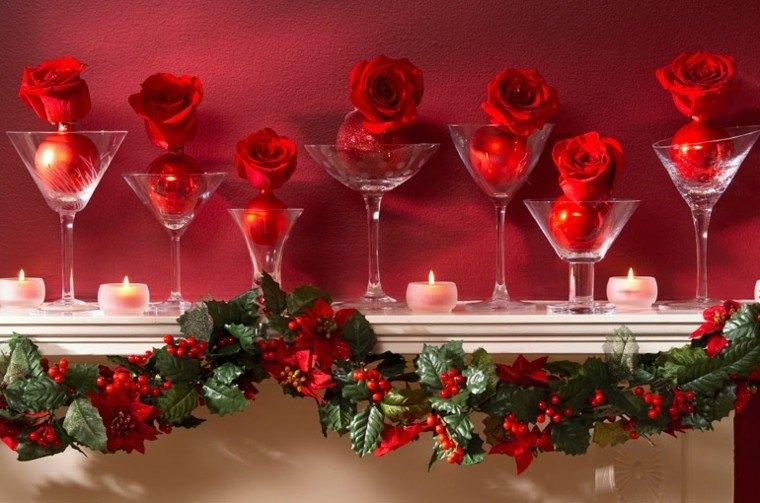 rosas decorativo espacio rojo romantico