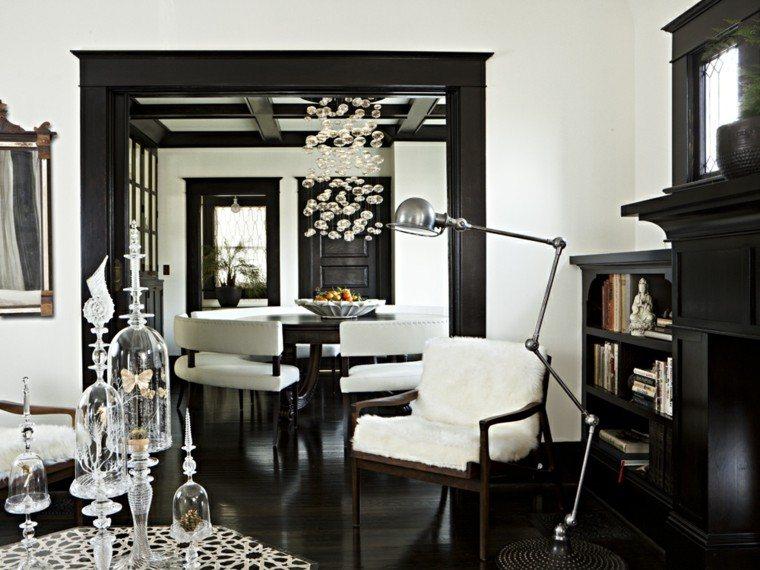 Blanco Y Negro 50 Ideas Para El Sal 243 N Moderno Y Elegante