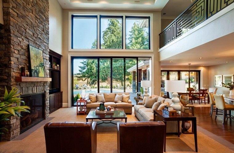 salon-rustico-cuadro-decorativo-chimenea-sofa-beige