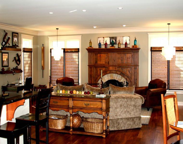 Decoracion rustica 50 ideas para interiores impresionantes - Decorar comedor rustico ...