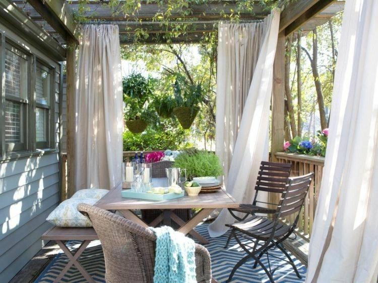 wicker chair beige curtains