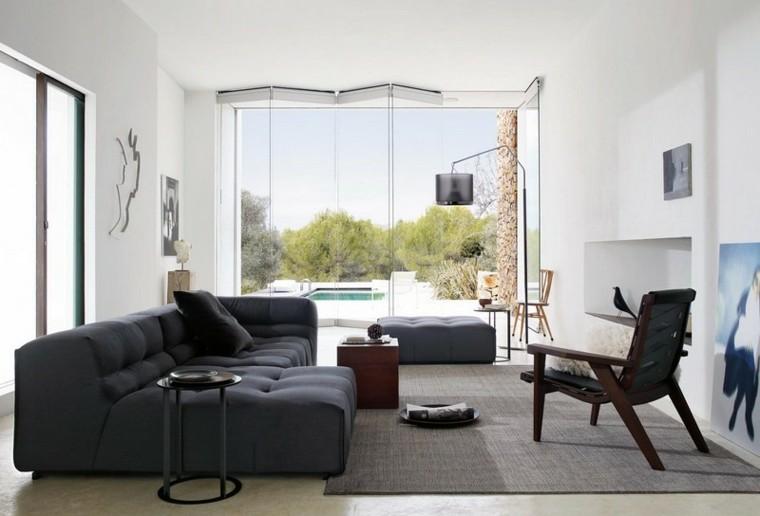 sofa diseño salon creativo espacio alfombra