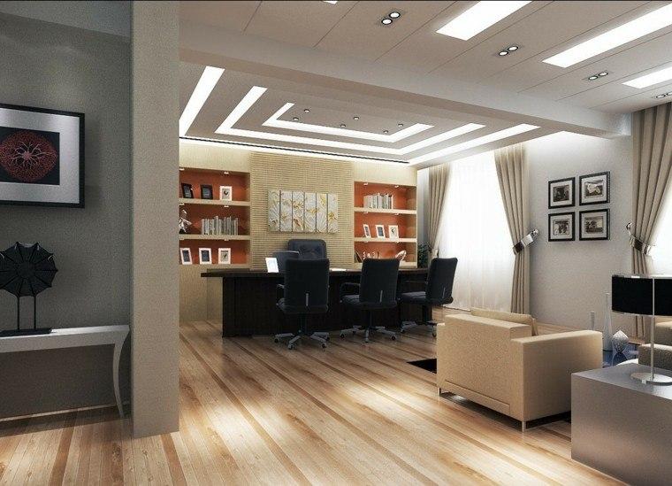 sofa escritorio oficina gris
