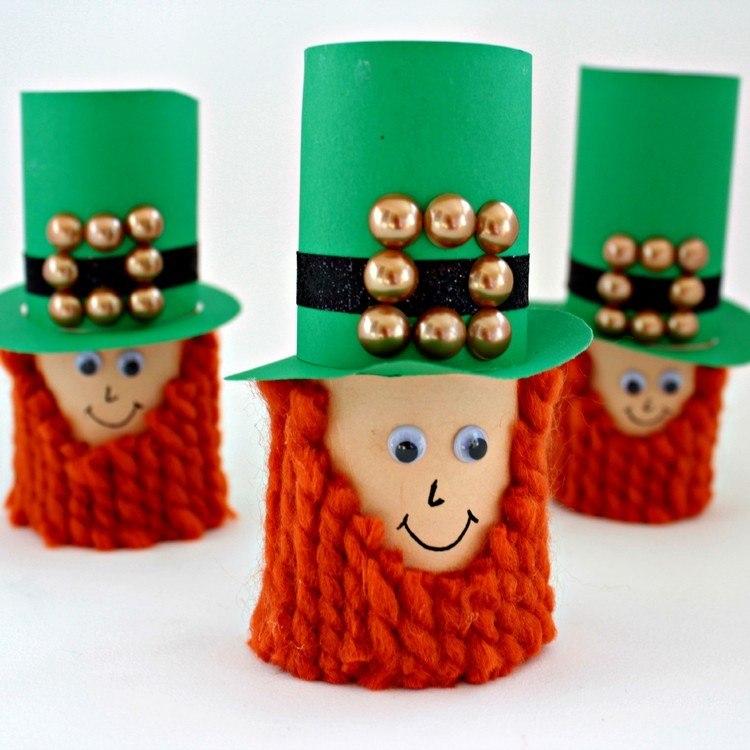 sombreros verdes enanos naranja barbas