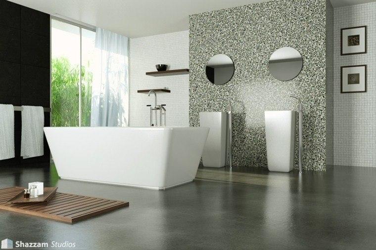 suelo cuarto baño hormigon gris