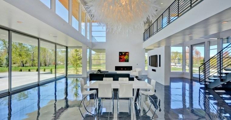 suelo casa concreto pulido brillante