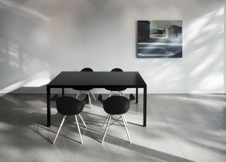 suelo cemento color gris mesa