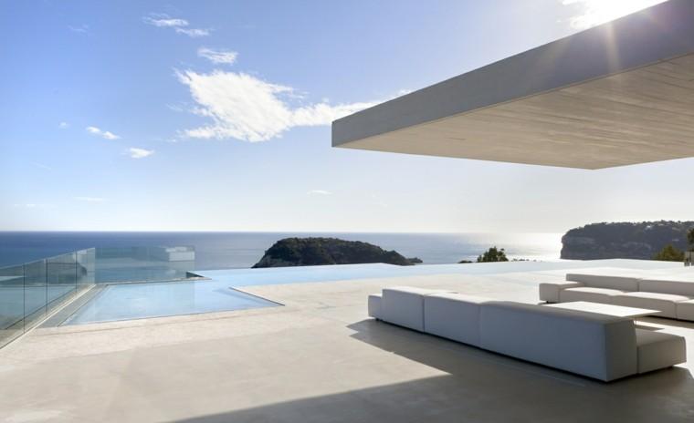 suelo terraza cemento color beige