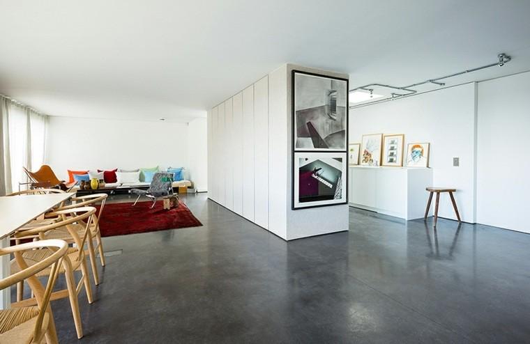 Cemento como tendencia de decoraci n para interiores - Suelo de microcemento precio ...