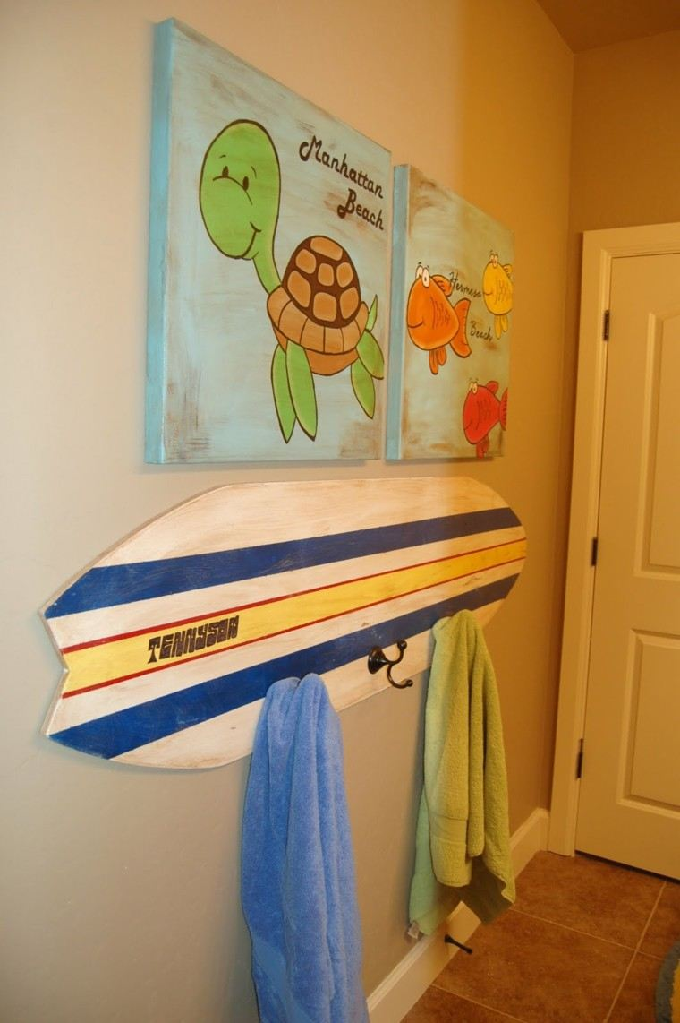Tabla de surf para decorar la casa ideas muy originales - Ideas para decorar la casa ...