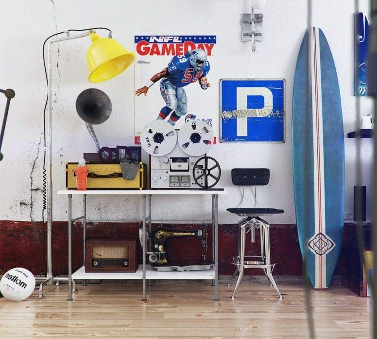 tablas de surf decorar opciones decoracion interesantes ideas