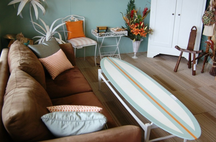 Tabla De Surf Para Decorar La Casa Ideas Muy Originales