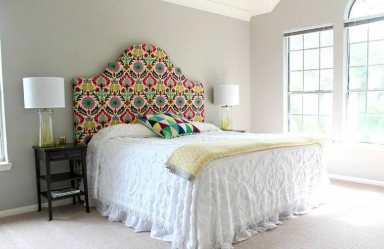 Cabeceros hechos a mano cincuenta ideas geniales - Imagenes de cabeceros tapizados ...