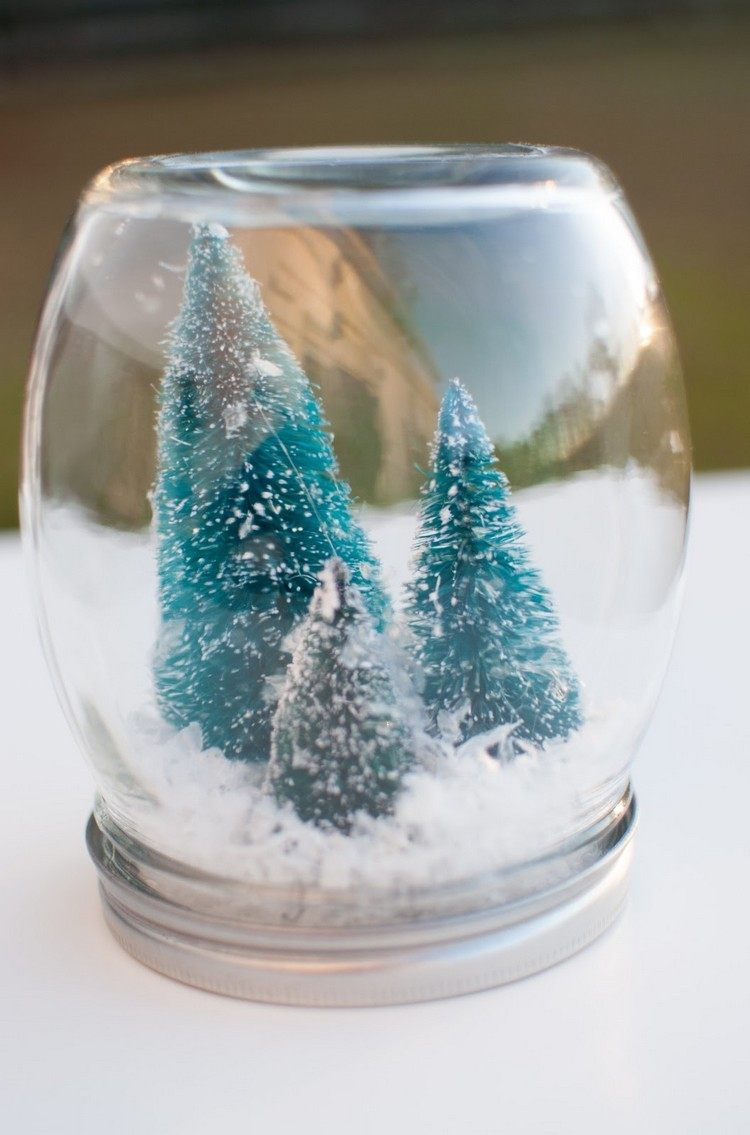 tarros cristal decora navidad arboles navidad dentro ideas