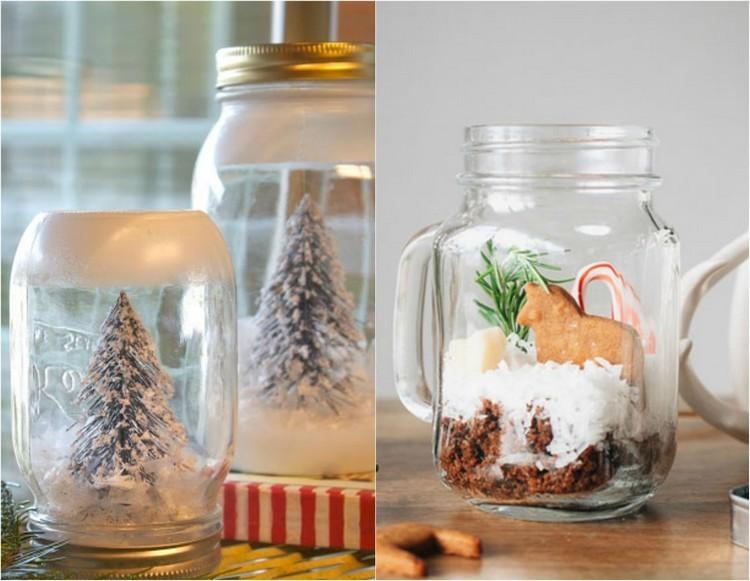 Tarros De Cristal Decorativos 25 Ideas Para La Navidad
