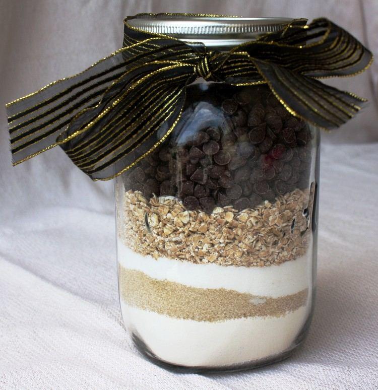 tarros de cristal decorativos cereales chocolate ideas