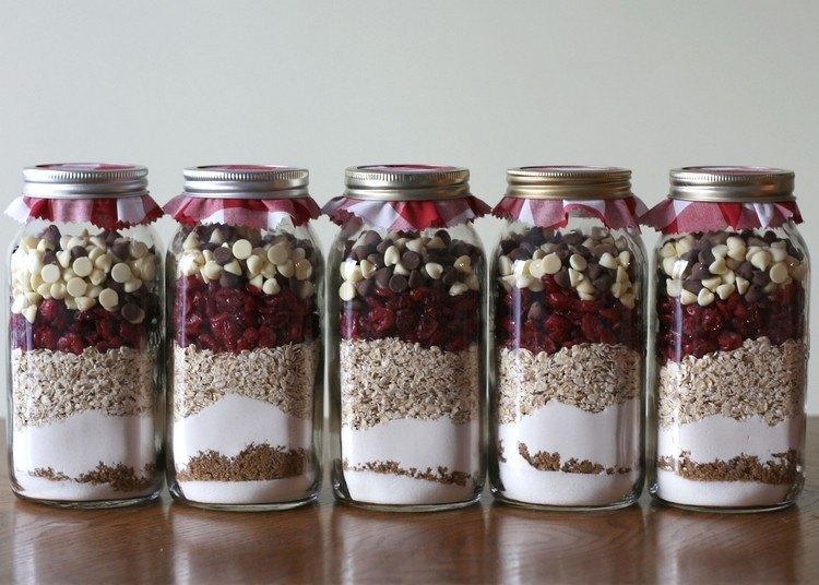tarros cristal decorativos cereales frutas secas ideas