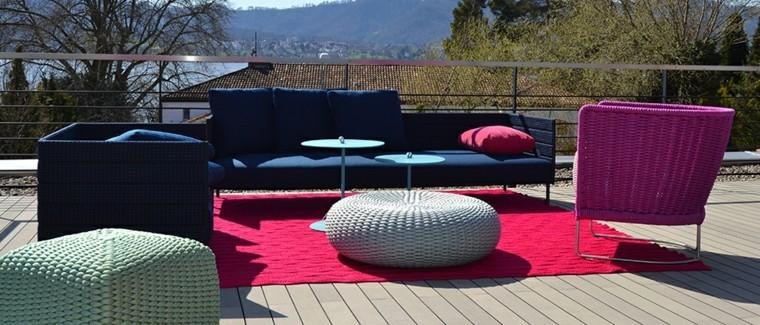 terraza suelo madera estilo chill