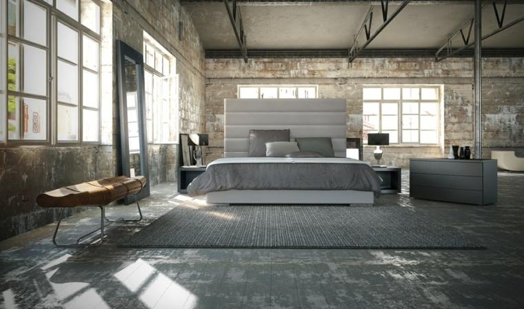 textura paredes estilo industrial moderno