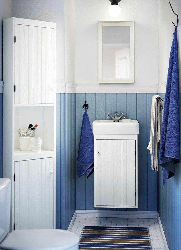 toallas baño color azul marino