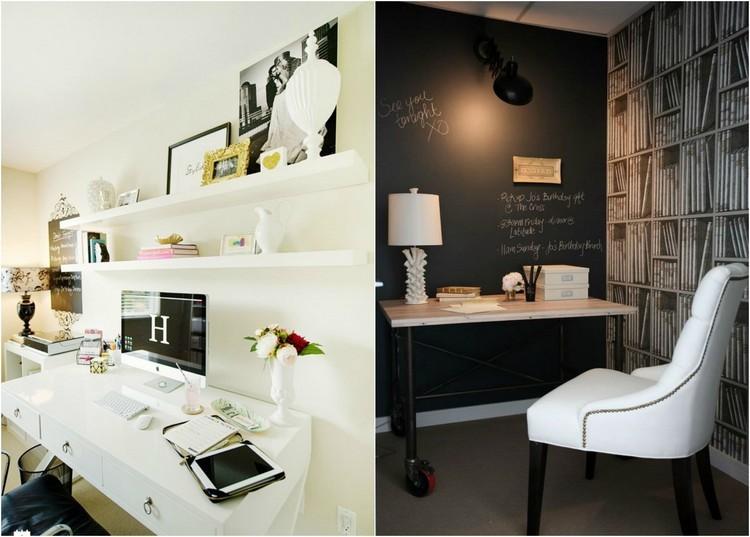 trabajar desde casa blanco escritorio creativo