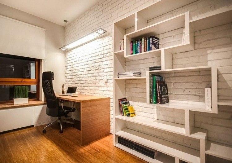 trabajar desde casa elegante madera buro