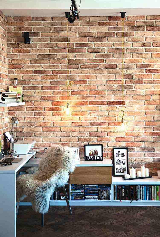 trabajar desde casa ladrillos paredes pieles
