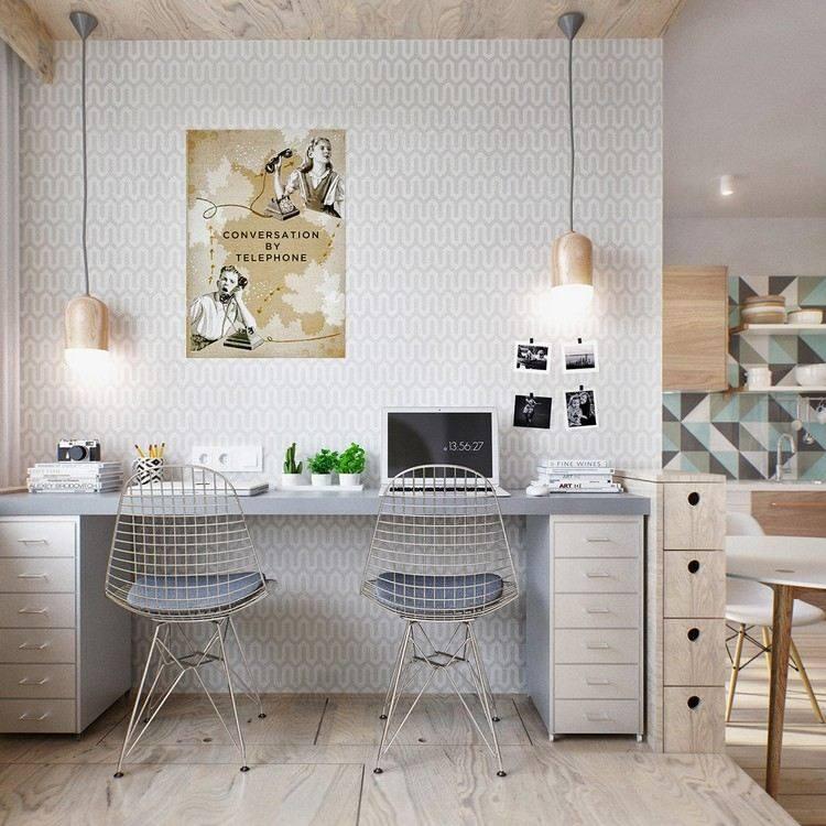 trabajar desde casa sillas diseño bombillas