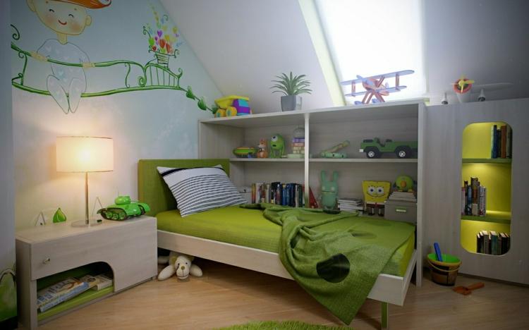 variante infantil estilo casa colorida