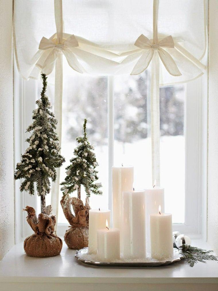 velas encendidas pajaros cantantes nieve