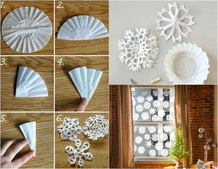 manualidades con papel retocando el ambiente navide o. Black Bedroom Furniture Sets. Home Design Ideas