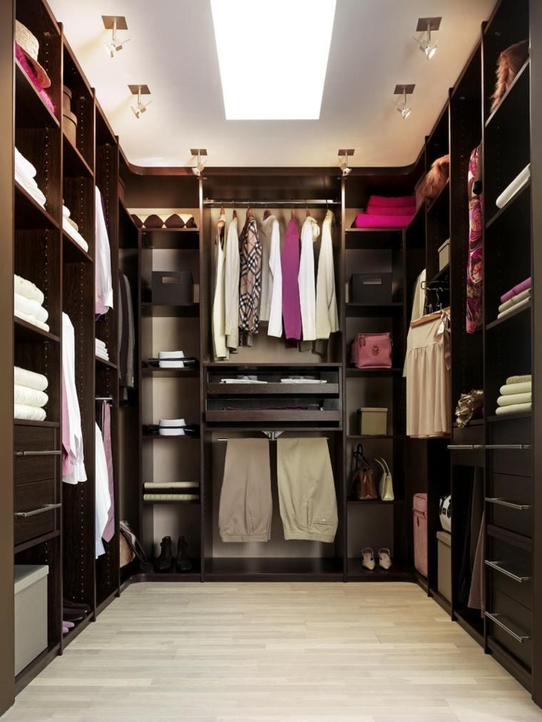 vestidor madera color marron oscuro