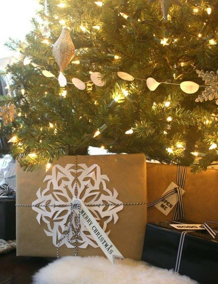 vidrios luces lazos salon regalo