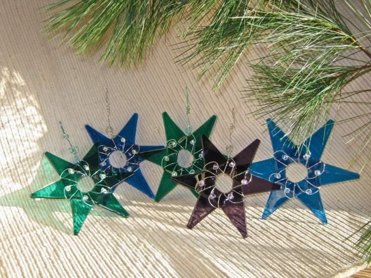 Cindi Hardwicke estrellas cristal distintos colores diseno ideas