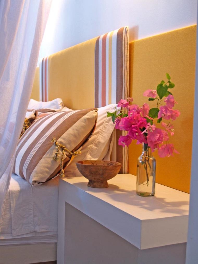 Luis Caicedo dormitorio moderno paredes color otoño acogedor ideas