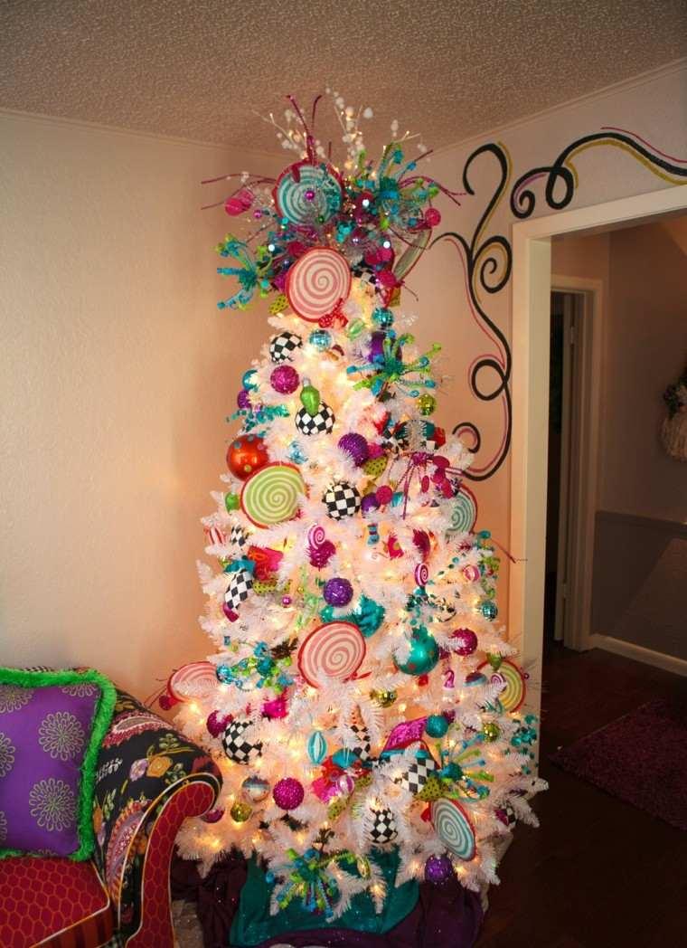 Arboles de navidad ideas de adornos para el rbol artificial - Decoracion arboles navidenos ...