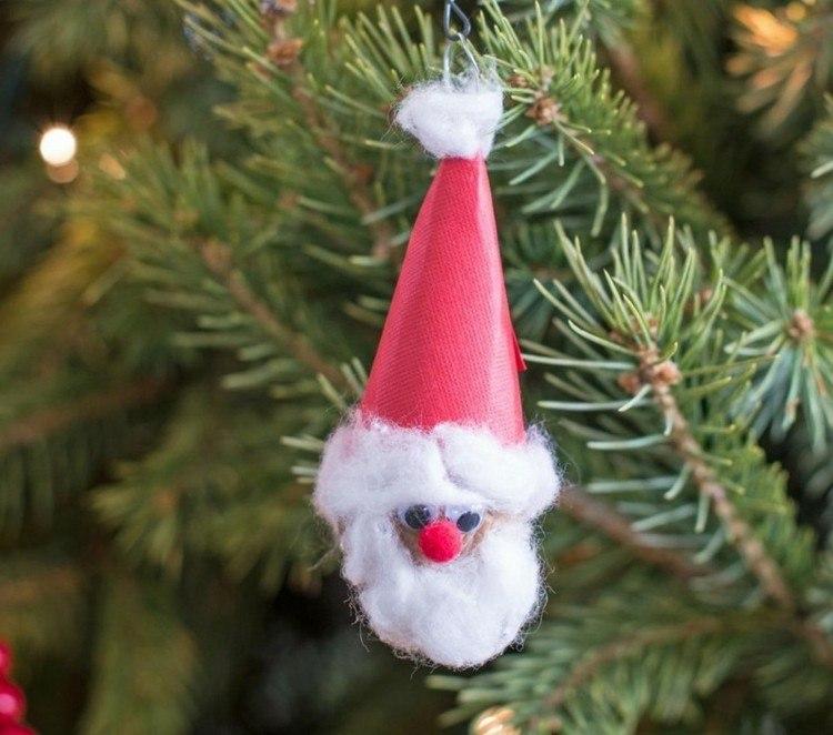 accesorios diy navidad enano gorro arbol