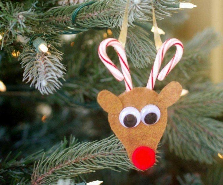 accesorios diy navidad reno pinos ciervo