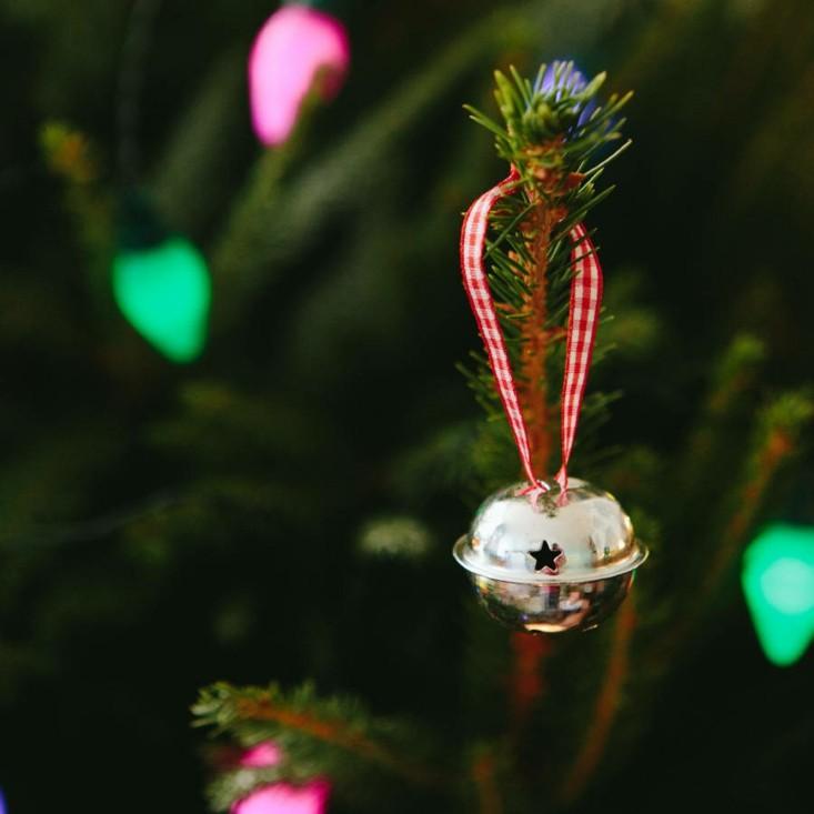adorno arbol navidad cascabel